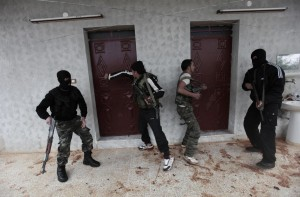 Medio Oriente, addestramento di ribelli siriani