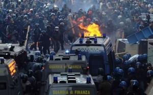 scontri-roma-15-ottobre