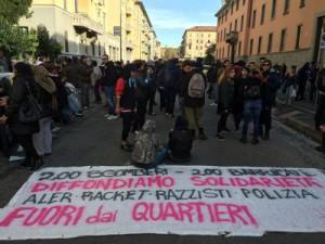 scontri_corvetto_milano_striscione